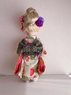 人形着物帯3