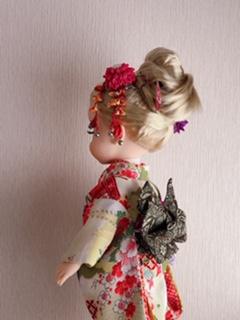 人形着物帯2