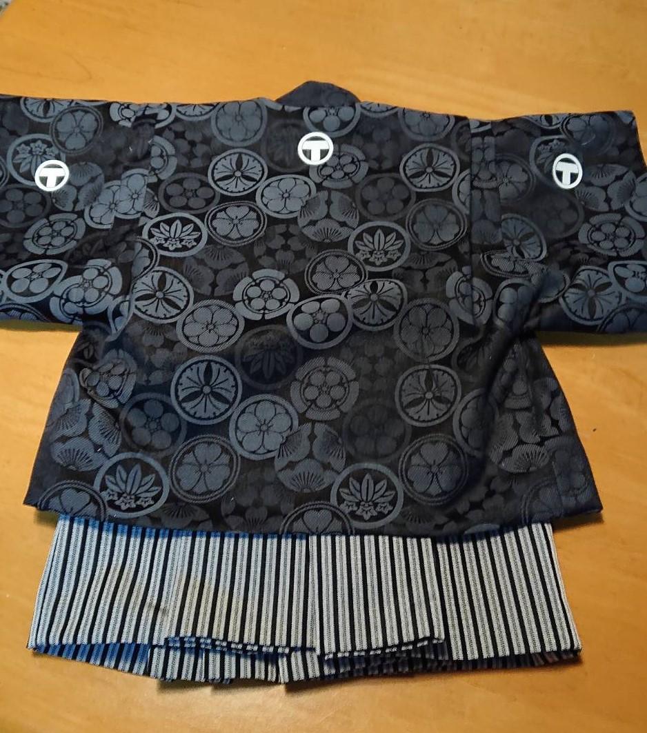 ベビー用の羽織袴 4