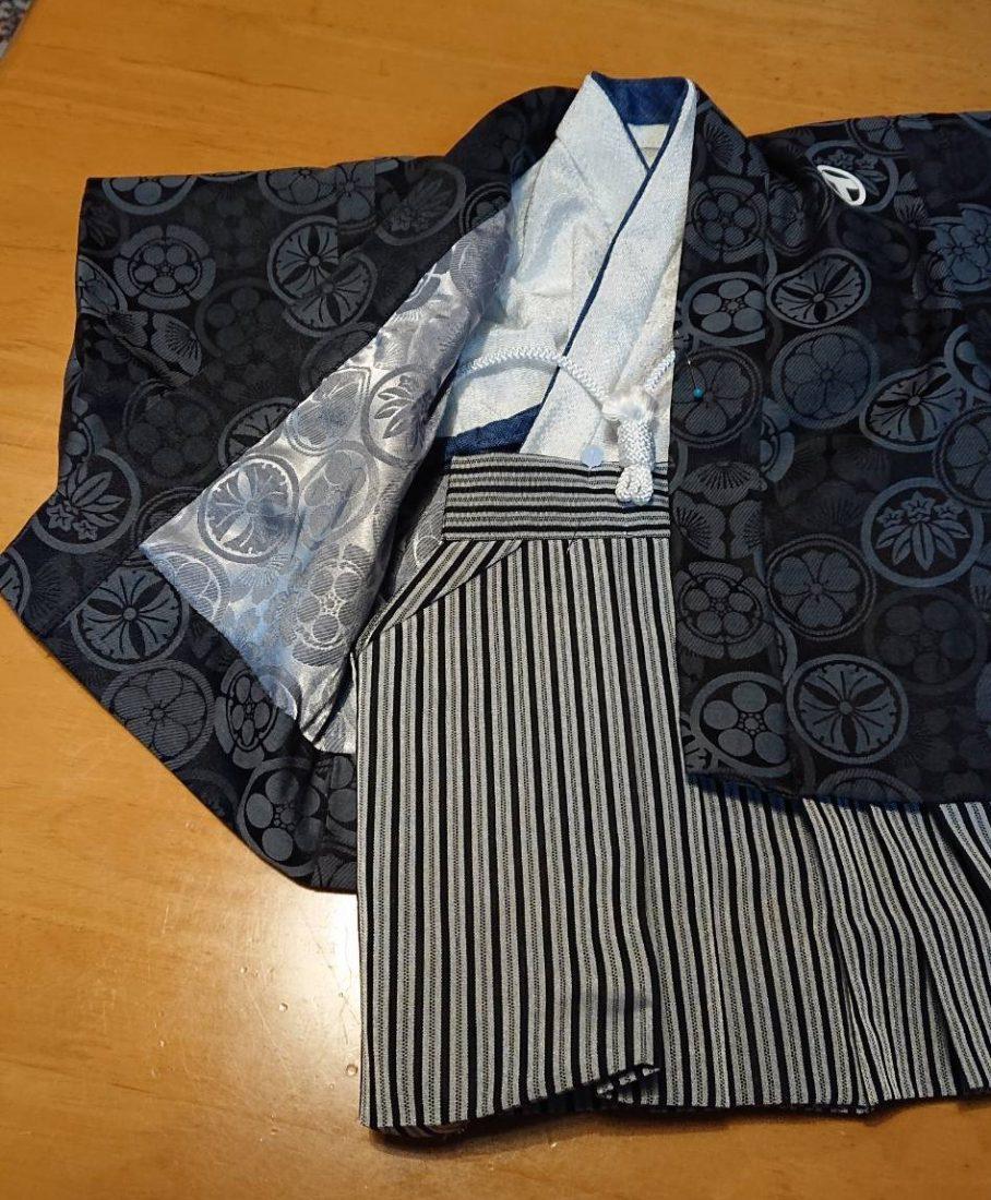 ベビー用の羽織袴 2