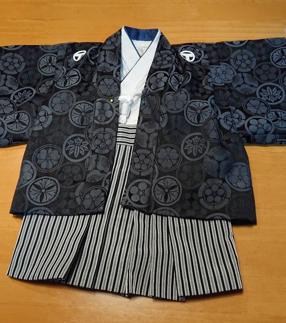 ベビー用の羽織袴 3